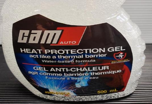 Camauto heat protection gel